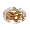 Swarovski Stones 4120 Oval 14x10mm Golden Shadow Crystal 12pcs